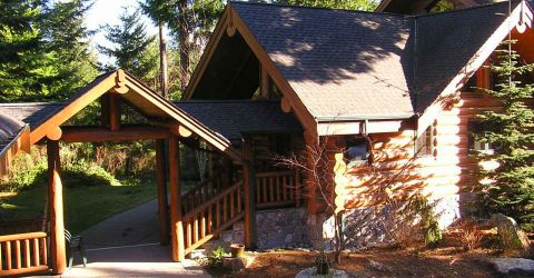 Log Home Exterior Designs 4