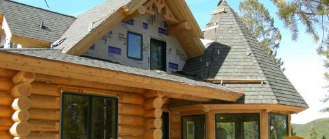 Log Home Exterior Designs 6