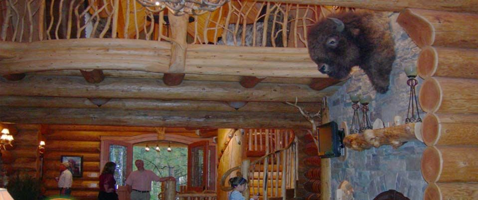 Log Home Interior Designs5