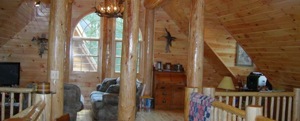 Log Home Interior Designs1