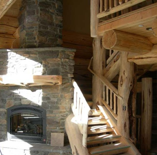 Log Home Interior Designs12