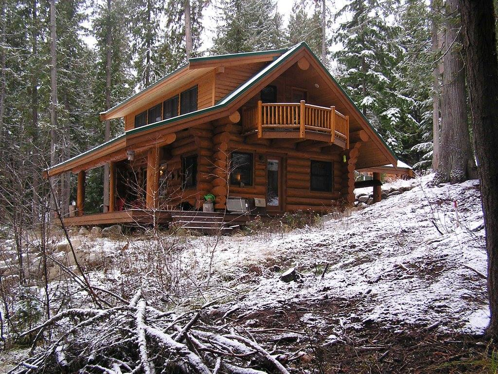 Log Home Exterior Designs 20